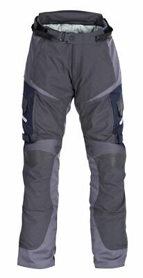 Triumph Navigator Mens Grey Blue Armoured Motorcycle Trousers NEW RRP £225!!!