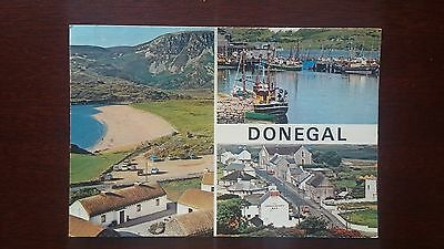Donegal views  - postcard