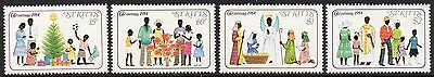St.kitts Sg165/8 1984 Christmas  Mnh