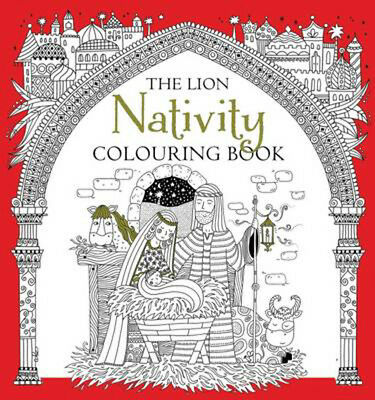 The Lion Nativity Colouring Book | Antonia Jackson