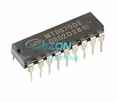 5PCS MT8870 CMOS LOW POWER DTMF DECODER RECEIVER IC NEW