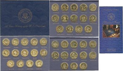 1997 Reader's Digest Coin History Of The U.S. Presidents 41 Coin Set With Book