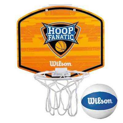 WILSON hoop fanatic mini basketball set