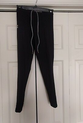 Under Armour adult small black cold gear running pants / tights