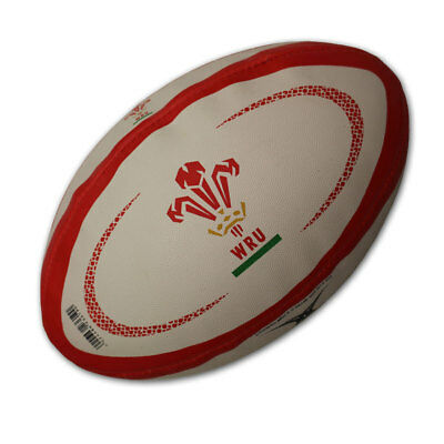 GILBERT wales replica rugby ball - size 4