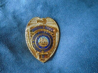 Vintage New Mexico Dept. of Public Safety Special Agent Police Badge Obsolete