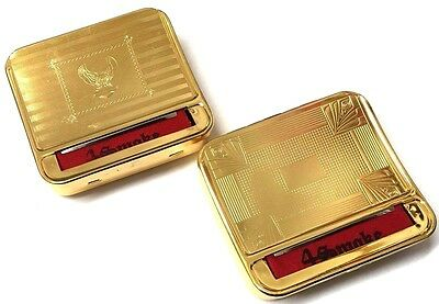 Gold Automatic Cloth Blind Rolling Machine Strong Cigarette Metal Roller Tin Box