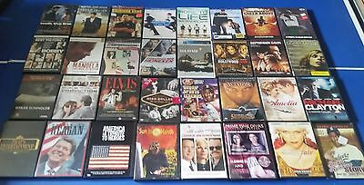 Lot #  287 of 32 Used Biographies/True Story Movie DVDs