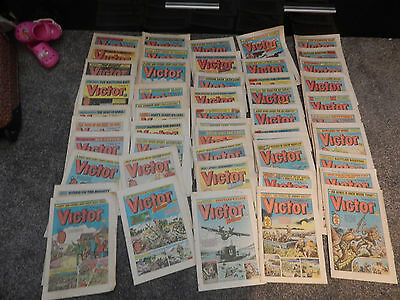 50 old victor comics in good condition for age lot 3