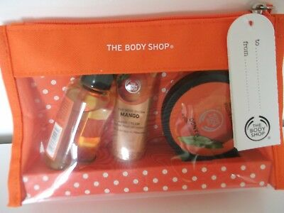 Brand New Seald The Body Shop   Travel Collection Gift Set