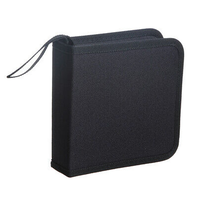 40 Disques CD Case Holder Stockage DVD Portefeuille Organiseur Book Media