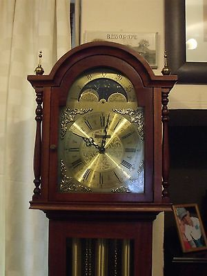 Grandfather Clock With Moon Phase Dial.