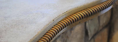 Rugged Rope - Concrete Countertop Edge Form