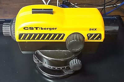 CST/BERGER auto level 24x    dumpy level/site level Model: M102610 Calibrated