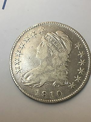 1810 50c Capped Bust Half Dollar