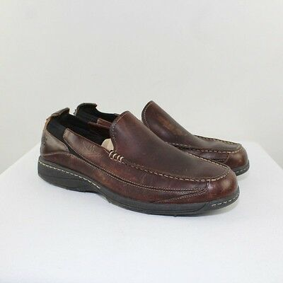TIMBERLAND Men's Brown Leather Loafers Size 9.5M