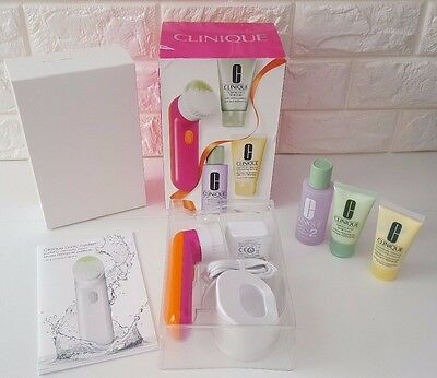 Clinique Sonic Brush System Set + Foaming Facial Soap + Clarifying Lotion 2