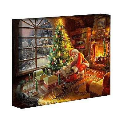 Thomas Kinkade Santa's Special Delivery 8 x 10 Canvas Gallery Wrap