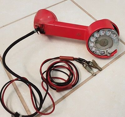 Vintage AEC Linemans Phone - Telephone Line Tester - For Parts Only
