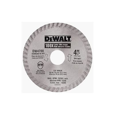 "Diamond Cutting Blade 4""- Dewalt"