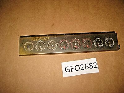 RELIABLE TYPEWRITER & ADDING MACHINE COMPANY ADDOMETER  8 DIALS  [GEO2682bt]