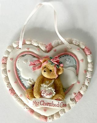 Cherished Teddies -Priscilla Hillman- Enesco-Love My Cherished One - 1994 Plaque
