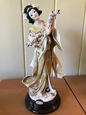 """Rare Giuseppe Armani """"madame Butterfly"""" 1533C Retired Italy Limited Edition"""