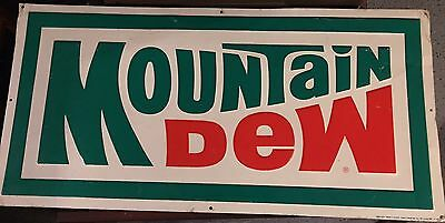 1982 Mountain Dew Sign