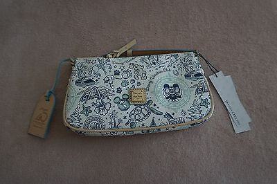 Disney Dooney and Bourke DVC 25th Anniversary Pouchette NWT