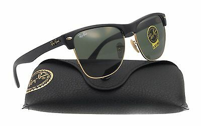 Ray-Ban Men's Oversized Clubmaster Sunglasses Rb4175 877/57 Black Square G-15
