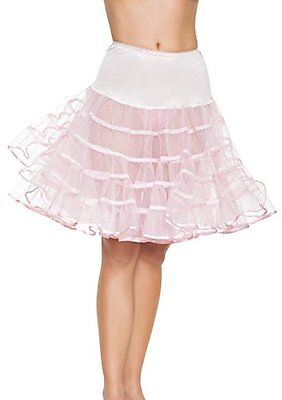 Leg Avenue Women's Knee-Length Petticoat New
