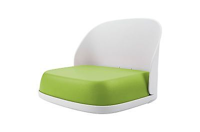 1 OXO tot Perch Booster Seat For Big Kids 3 Years & up Max Weight 70 lbs Green