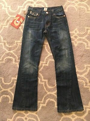 NWT Sz 12 Kids True Religion Billy Flare Jeans