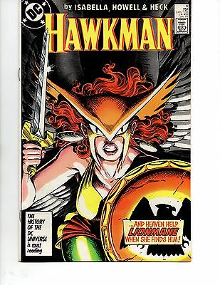 Hawkman #6(Jan 1987  DC) VF+