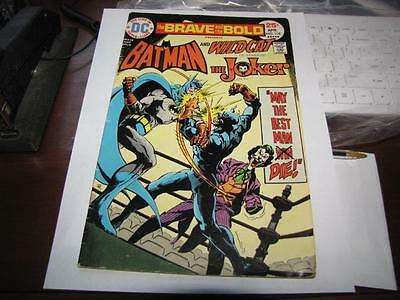 Batman and Wildcat, The Joker, Comic Strip DC - The Brave and the Bold No. 118
