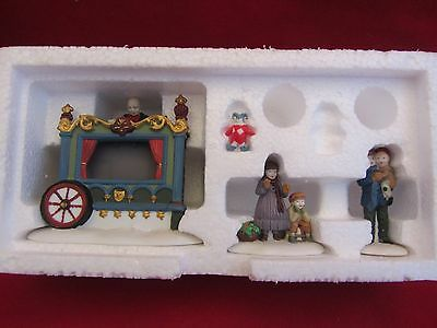 Dept 56 THE OLD PUPPETEER  - Dickens Village Series  # 58025   (d3:15)