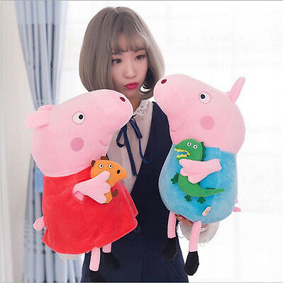 Short-pile velour Stuffed toy doll Lovely Peppa Pig toy doll birthday present