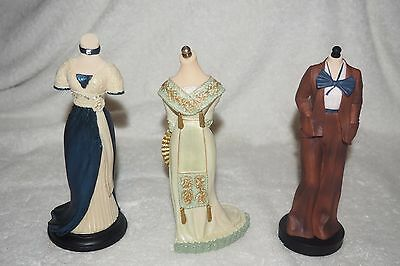 The Latest Thing Style Sensations Willitts Mannequin Designs Set of 3 NIB