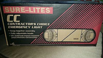 SUR-LITES CC4WH Emergency Lights BRAND NEW IN BOX