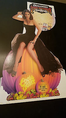Salma Hayek 1999 Coors Light Halloween Standee New & Unused