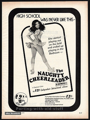 THE NAUGHTY CHEERLEADER__BOOBY HATCH__Original 1978 Trade AD promo__BARBI BENTON
