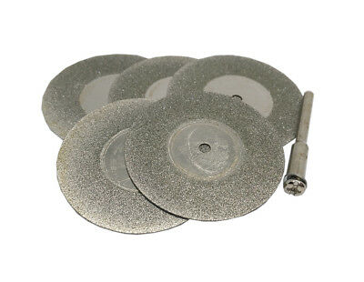 6pc 40mm Emery Diamond Wheel Cutter Suitable for Rotary Die Grinder Tool Dremel