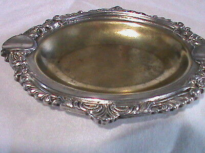 Ornate Rodin Rep. Sheffield Ashtray