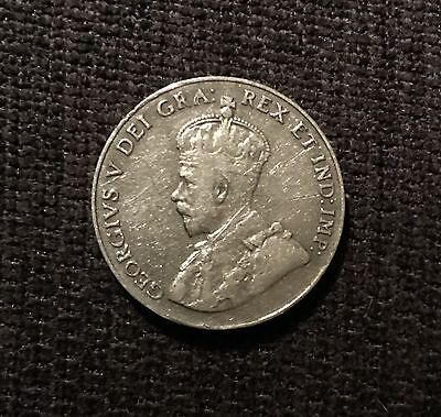 1925 Canadian 5 Cent