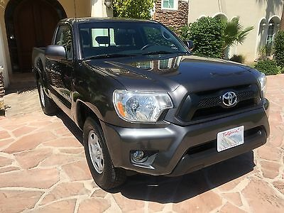 2014 Toyota Tacoma Standard Regular Cab Pickup 2-Door 2014 TOYOTA TACOMA VERY LOW MILES LIKE NEW EXCELLENT CONDITION NEEDS NOTHING A++