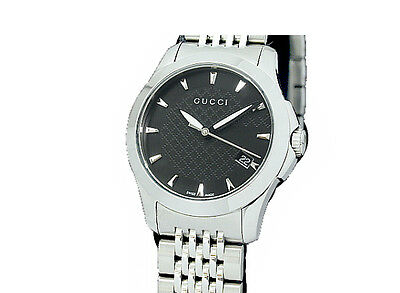 f32d2dbf8b2 PRE-OWNED GUCCI G Timless All SS Black Dial Women s Quartz Wristwatch  126.5