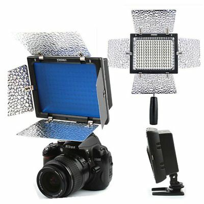 Yongnuo YN-600 5500K Pro LED Light Camcorder with Remote for Canon Nikon