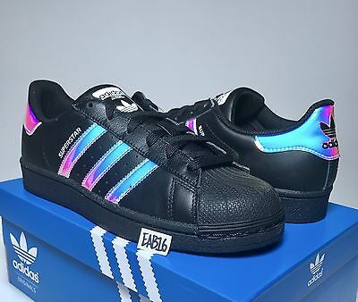 adidas superstar hologram black