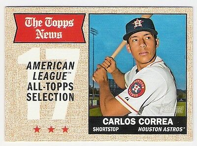 Carlos Correa 2017 Topps Heritage All Topps Selection #366