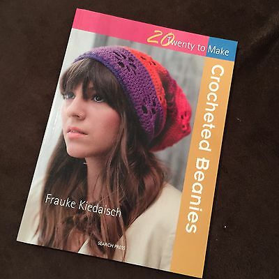 20 To Make Crocheted Beanies Pattern Book